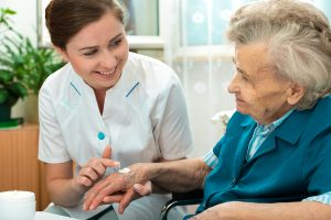 Elderly Care in Bethesda MD: Winter Skin Problems